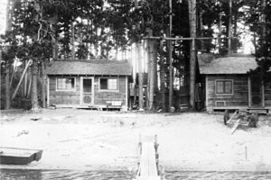 Trout Lake Camp, 1933
