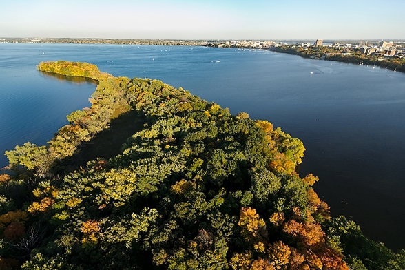 Picnic Point and Lake Mendota